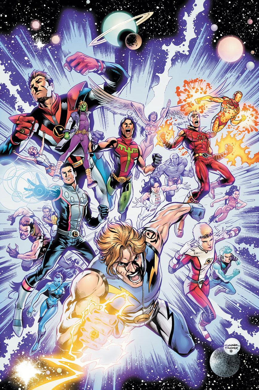 Legião dos Super-Heróis (Pré-Zero Hora)