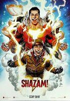 Shazam! pôster da CCXP