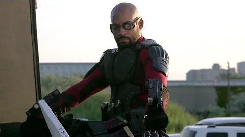 Pistoleiro de 'Suicide Squad' - Por trás das câmeras Legendas