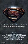 Capa alternativa de Man of Steel The Official Movie Novelization
