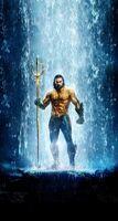 Aquaman na roupa clássica pôster limpo