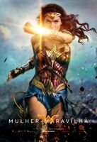 Pôster de 'Wonder Woman' em português