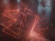 Darkseid usa o Raio Ômega contra Atlantes - ZSJL