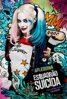 Imagem promocional da Arlequina em 'Suicide Squad'