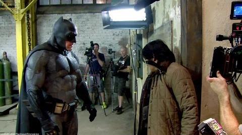 Batman de 'Batman v Superman' - Por trás das câmeras Legendas