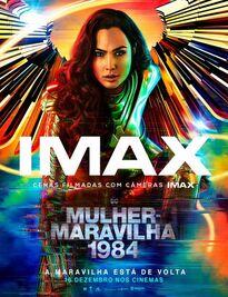 'Wonder Woman 1984' cartaz IMAX