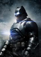 Batman com sua nova armadura