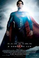 Pôster do Superman de 'Man of Steel' em português