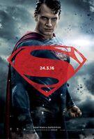 Promocional de Superman em 'BvS'
