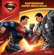 Man of Steel Superman Saves Smallville cover