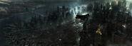BvS Gotham City & Harbor concept - Christian Lorenz Scheurer