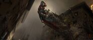 Batman v Superman Dawn of Justice - Concept Art Duel by Vance Kovacs 00