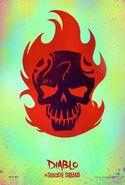 Suicide Squad character poster - El Diablo