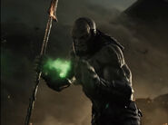 Darkseid reaches for the ring