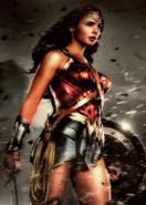 Wonder Woman ZSJL Trilogy card