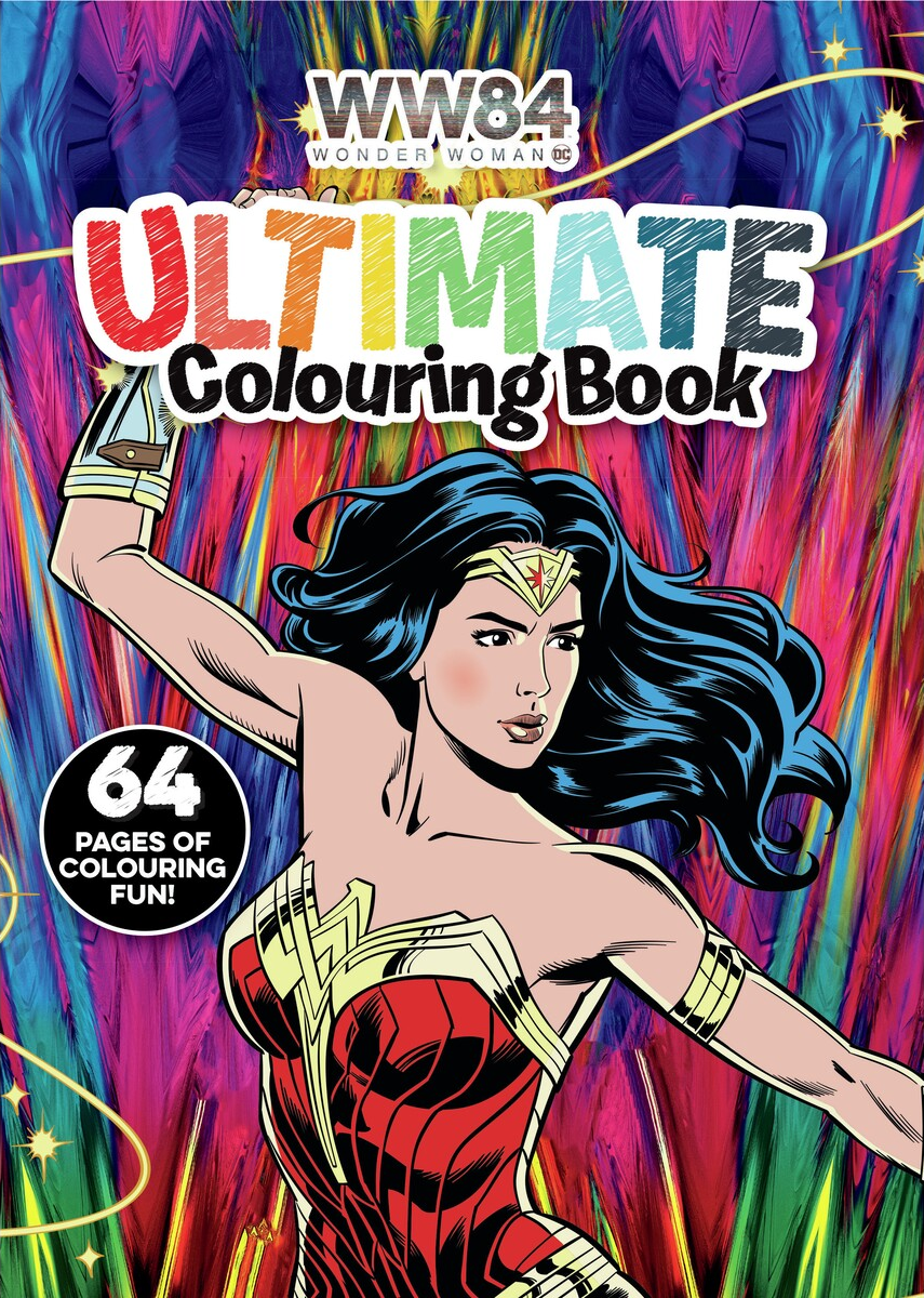 Wonder Woman 1984: Ultimate Colouring Book