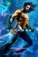 Aquaman - Arthur Curry character poster