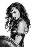 BvS - Wonder Woman portrait