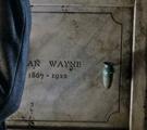 Alan Wayne grave