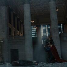 Superman hugging Lois after killing Zod.jpg