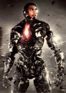 Cyborg ZSJL Trilogy card