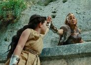 Hippolyta with young Diana
