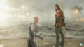 Aquaman - Arthur and Orm stare at Atlanna