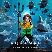 Aquaman LEGO poster