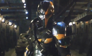Deathstroke test footage