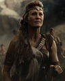 Antiope during the Invasion of Earth