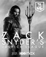 Aquaman Snyder Cut Character Poster