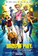 Birds of Prey Theatrical Poster 01
