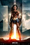 Justice League - Wonder Woman character poster