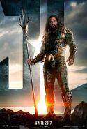 Justice League - Aquaman character poster