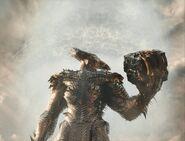 Steppenwolf holds a Mother Box - ZSJL