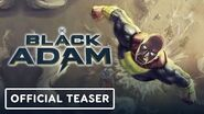 Black Adam Introduces the Justice Society of America - Official Teaser DC FanDome