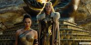 Wonder Woman and Hippolyta in armour
