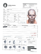 Chato Santana CIA criminal record