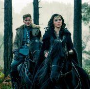 Trevor and Diana on Horses