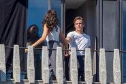 Diana and steve on balcony