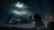 Justice League (2017) Batman sees symbol