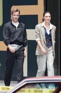 Steve and Diana walking