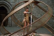Diana steals the god killer sword