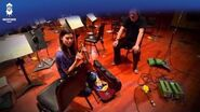 Man of Steel Official Soundtrack Behind The Scenes Solo Violinist w Hans Zimmer WaterTower