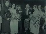 Wonder Men at a wedding