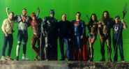 JL-BTS - Zack Snyder, Justice League and Geoff Johns on set