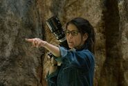 WW-BTS - Director Patty Jenkins on set