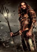 Aquaman ZSJL Trilogy card
