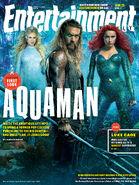 Entertainment Weekly - Aquaman June 2018 variant cover 2