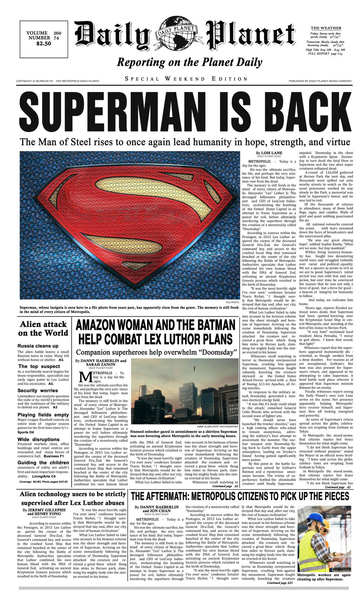 Newspaper from Shazam!.jpg
